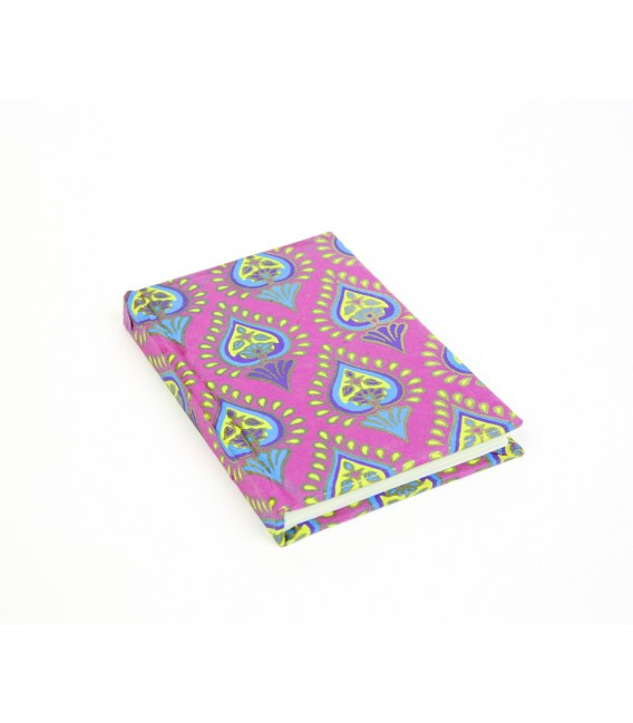 Small hard cover lilac notebook