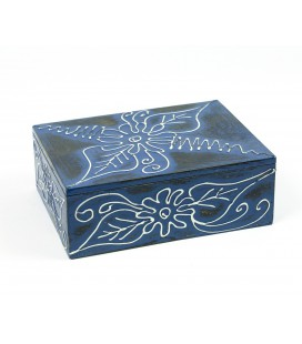 Painted flower box