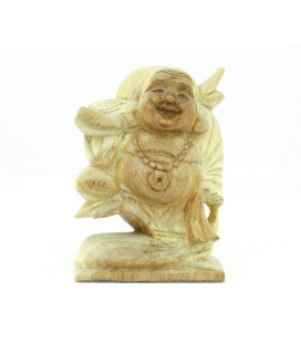 Pale Buddha of abundance figurine