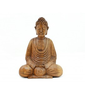 Mini meditating Buddha figurine