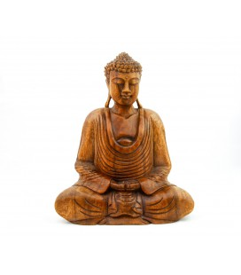 Medium meditating Buddha figurine