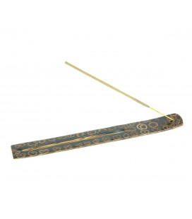 Black coconut incense table
