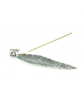Silver elephant incense table