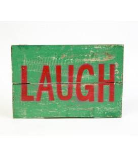 Green Laugh poster