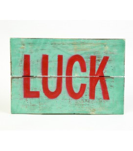Cartel Luck verde