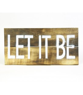 Cartel Let it be