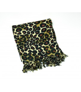 Beach wrap leopard small